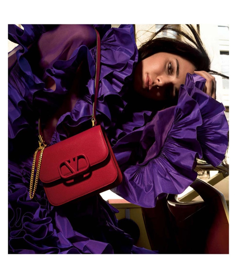 Kendall Jenner stars in Valentino resort 2020 accessories campaign