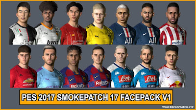PES 2017 Facepack V1 for Smoke Patch 17
