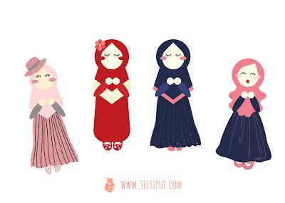 Karakter Muslimah