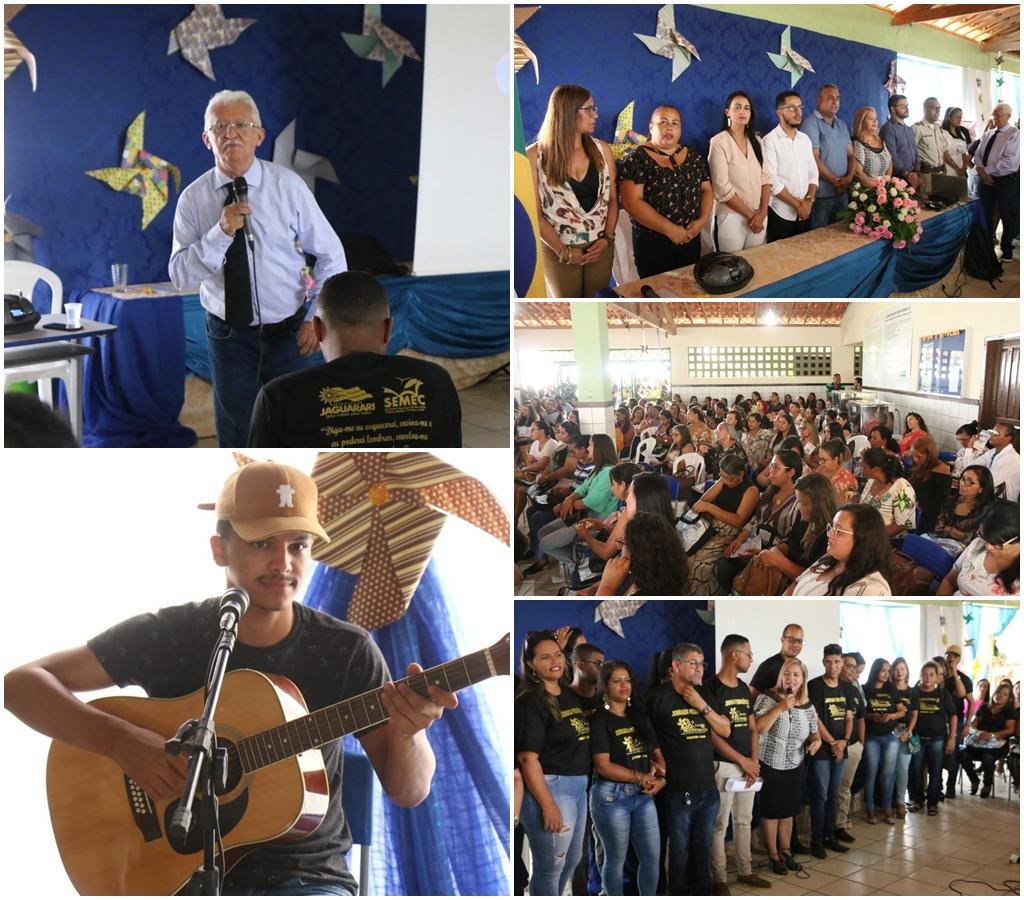 Prefeitura de Jaguarari realizou com sucesso a sua primeira Jornada Pedagógica 2020