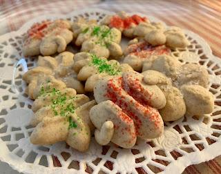 Sparkling Spice Spritz Cookies