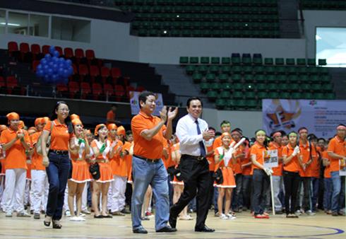 Lãnh đạo và CBNV tham gia Lễ hội mừng sinh nhật Công ty - 13/9.