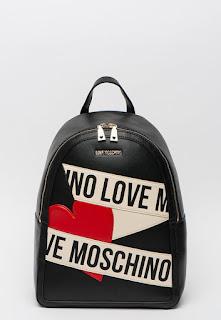Love Moschino - Дамска Раница от еко кожа с лого