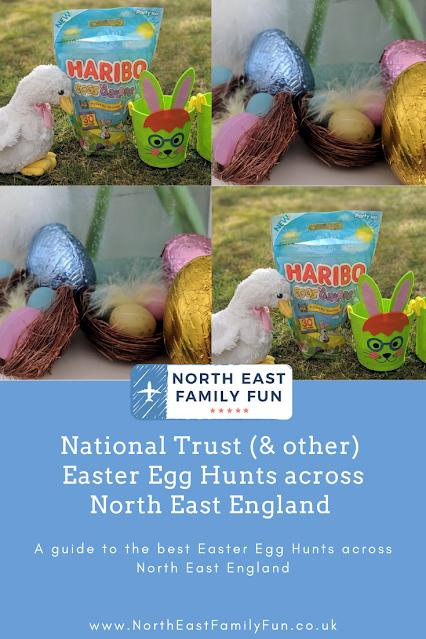 National Trust (& other) Easter Egg Hunts across North East England 2021