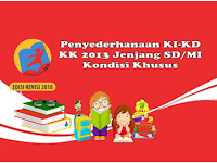 Penyederhanaan KI-KD KK 2013 Jenjang SD/MI Untuk Kondisi Khusus Tahun 2020