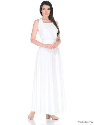 vestido blanco vintage