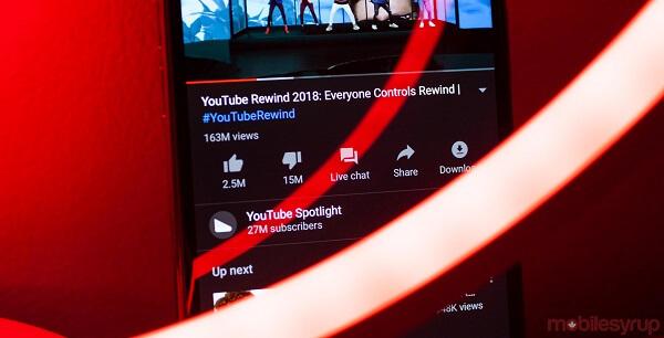 """يوتيوب تفكر بإزالة زر """"لم يعجبني"""" من منصتها"""
