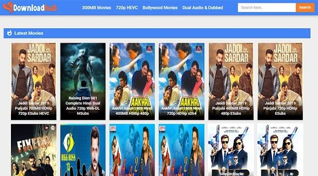 DownloadHub 2021 latest bollywood movies download 300mb movies hindi