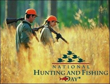 National Hunting and Fishing Day Wishes Photos
