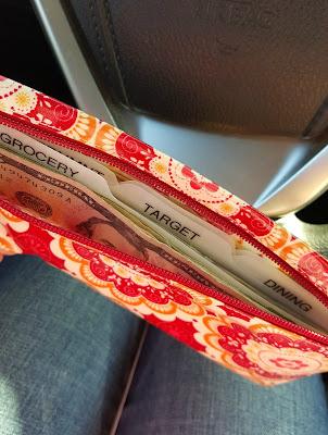 cash envelop system - budgeting
