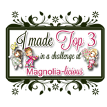 "Top 3 May 2014 ""Magnolia-licious challenge Blog"""