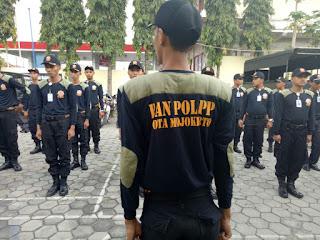 Perkuat Personil, Satpol PP Kota Mojokerto Rekrut 70 Banpol