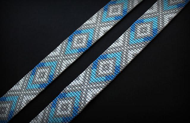 купить гердан из бисера в стиле этно фото украшения хенд мейд купить