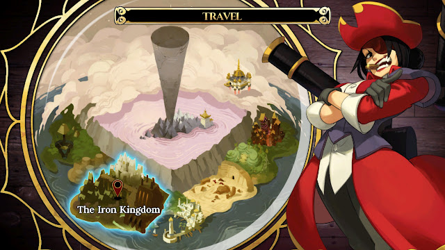 Indivisible boat travel world map screen