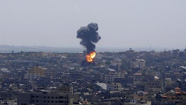 Israel Gempur Rumah Pemimpin Hamas di Gaza!