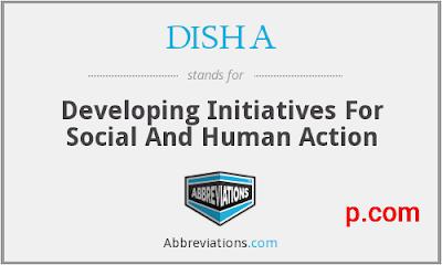 DISHA Full Form Hindi