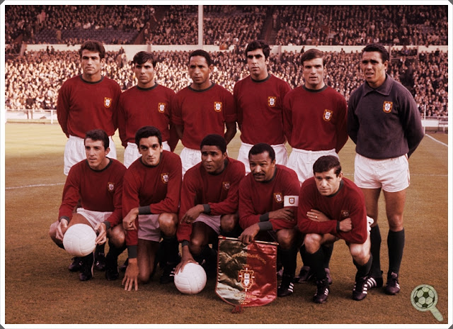 Portugal 1966 Copa do Mundo World Cup