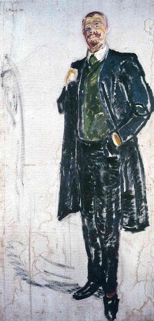 Эдвард Мунк - Йенс Тиис. 1909