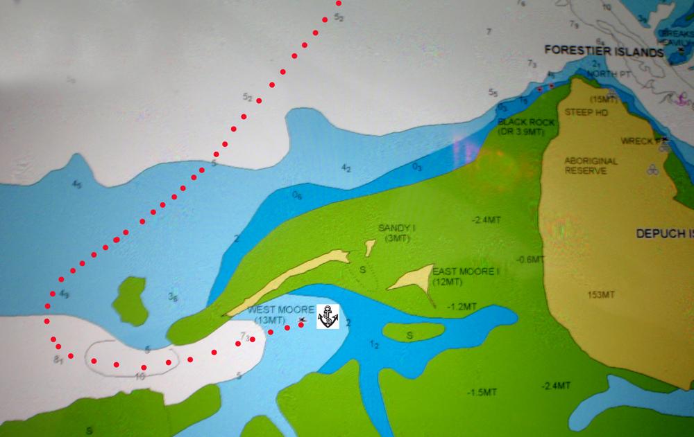 Sailing Aussie Coast Port Hedland To Dampier