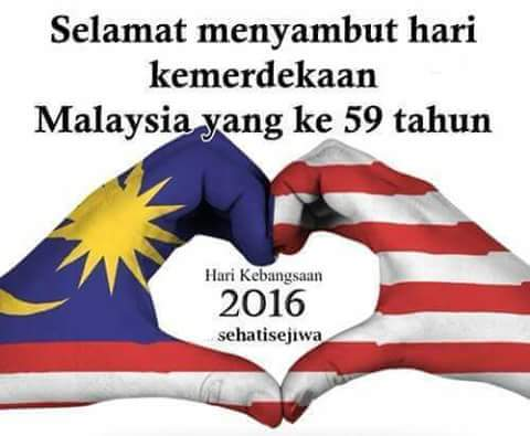 Merdeka Malaysia Sudah 59 Tahun