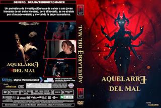 CARATULA AQUELARRE DEL MAL - COVEN OF EVIL 2018[COVER DVD]