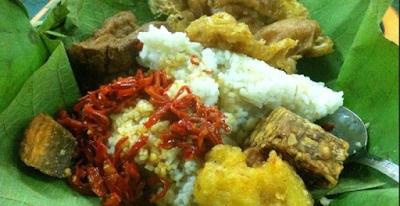 Nasi Jamblang Ceribon