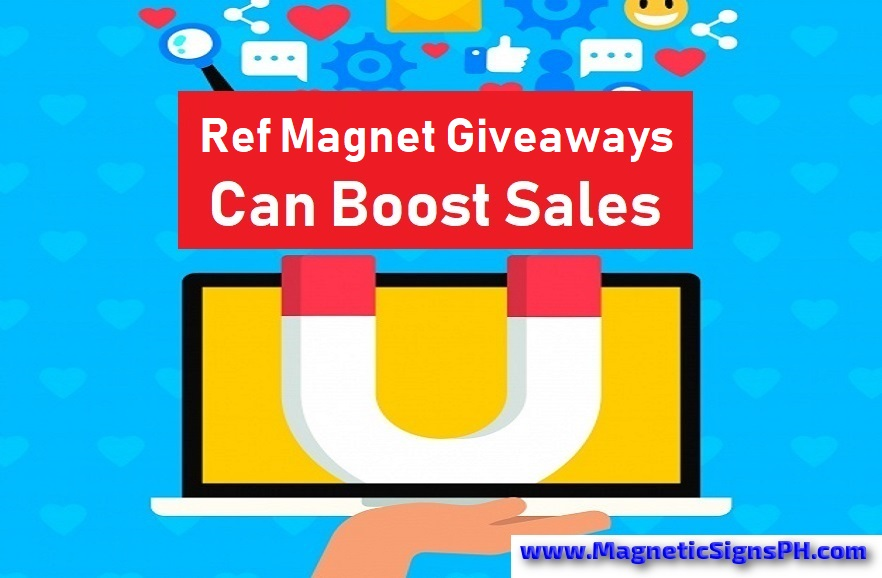 Ref Magnet Giveaways Philippines