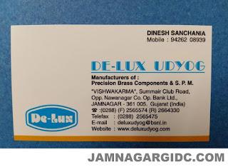 DE-LUX UDYOG - 9426208939