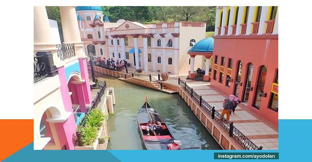 objek wisata Little Venice, Miniatur Venesia di cianjur jawa barat
