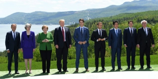 #Politics :War of words between US and Western allies after G7 fiasco