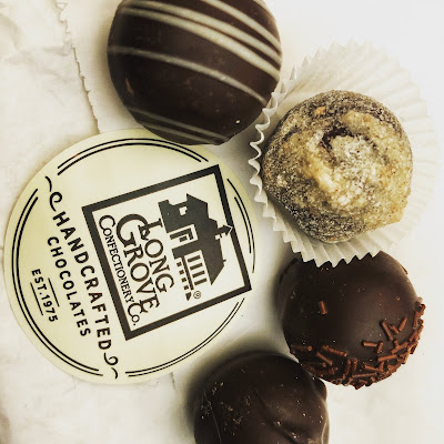 Chocolate truffles from Long Grove Confectionery