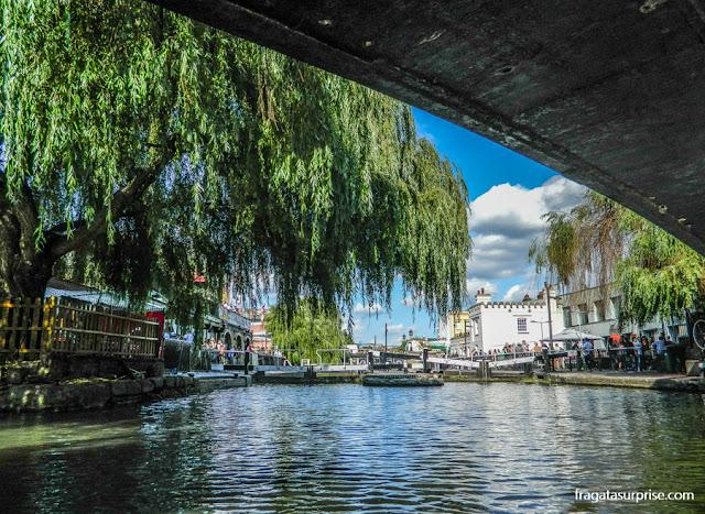 Eclusa de Camden no Regent's Canal, Londres