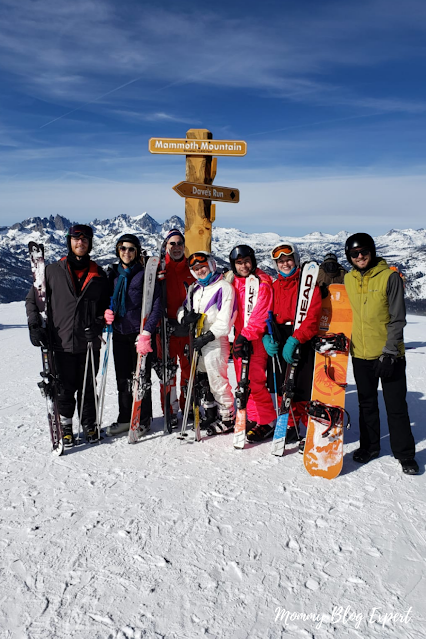 Family Ski Trip Mammoth Mountain California