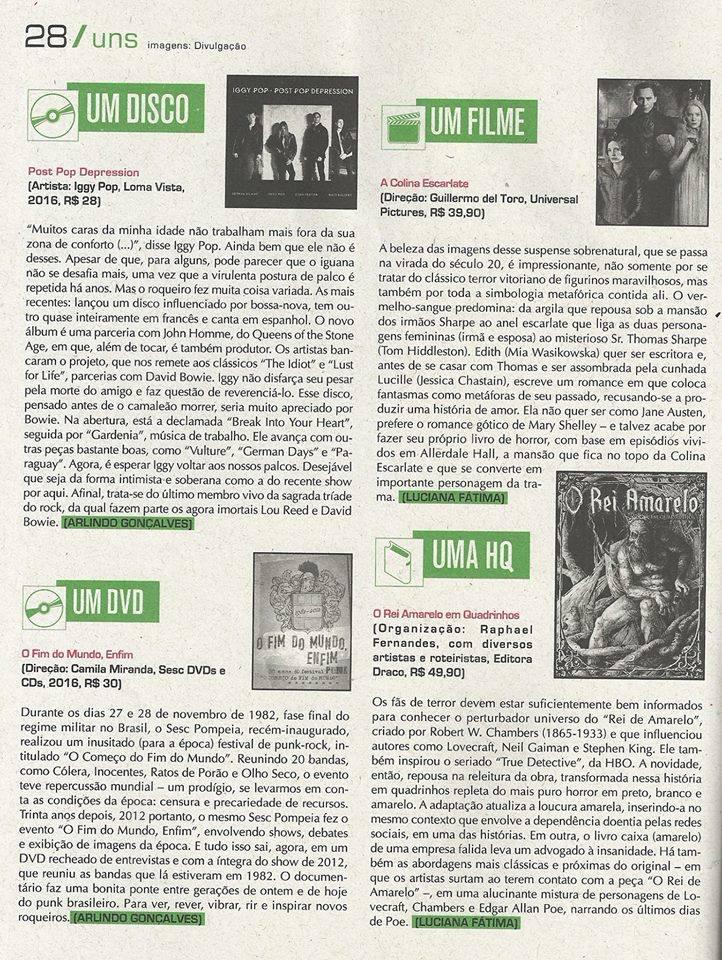 Página da Revista