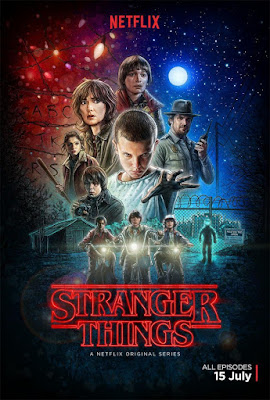 Stranger Things - La serie de Netflix - cartel