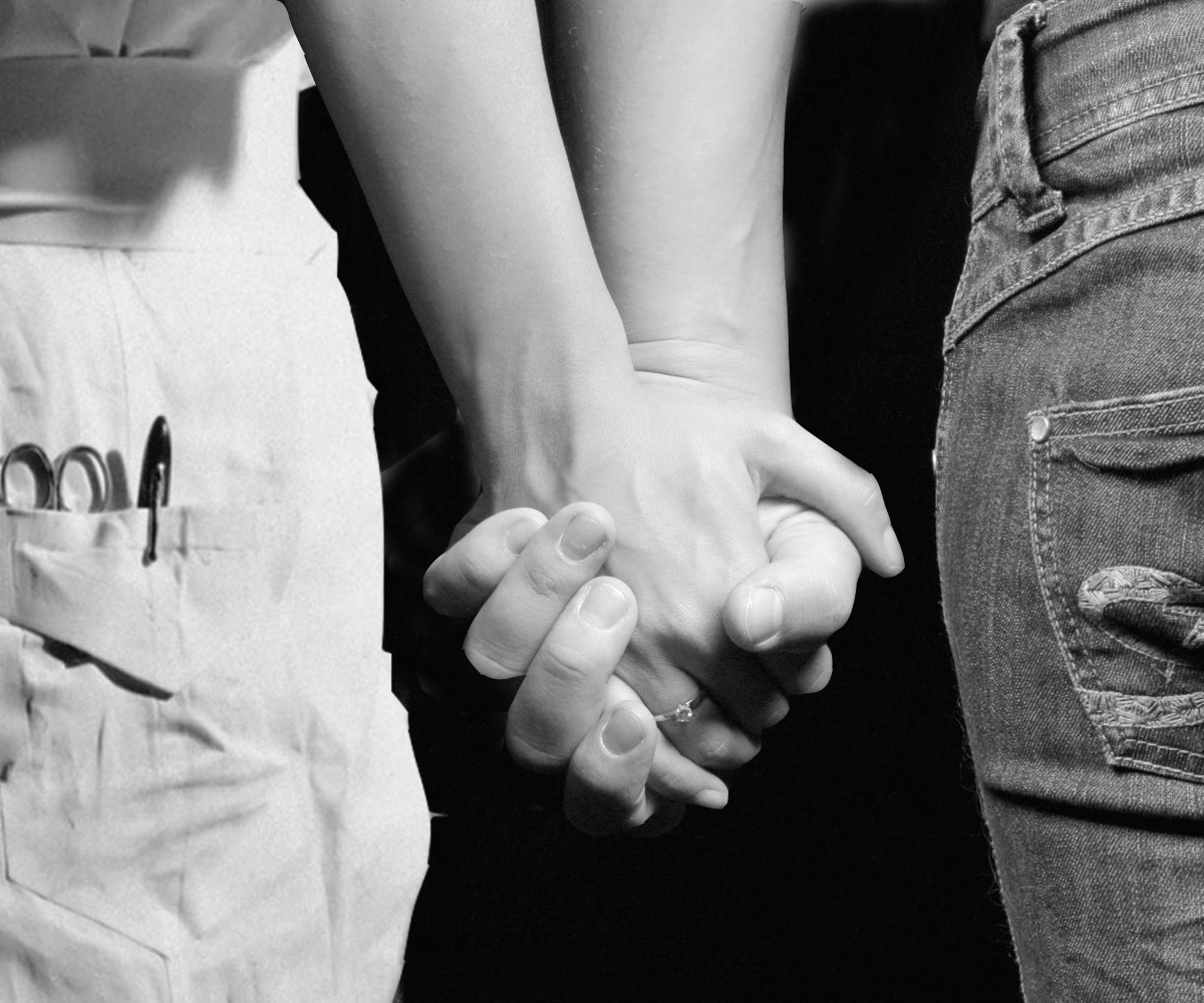 Sometime we need a warm hand to hold.
