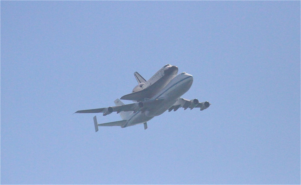 Foodtravelinsider: Space Shuttle Endeavor, Last Flight