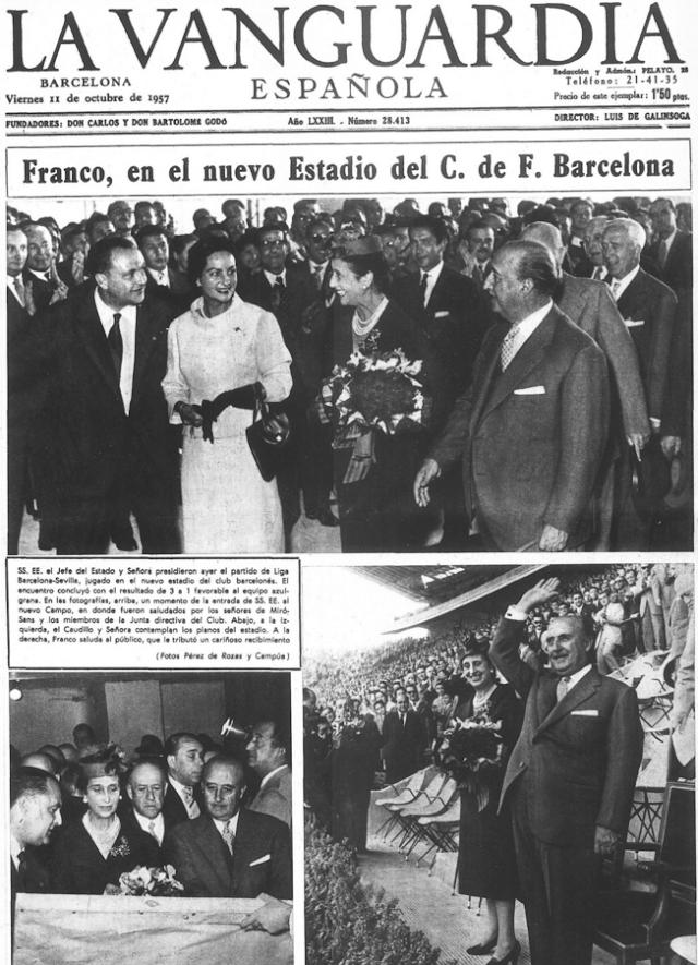 Ocho apellidos catalanes que ayudaron a crear al Estado franquista