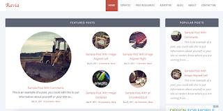 ravia-mobile-friendly-blogger-template