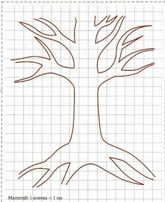 Как сделать дерево с фотографиями своими руками