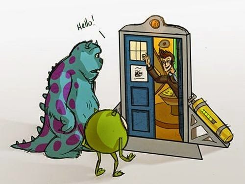 doctor-who-monsters-inc-crossover