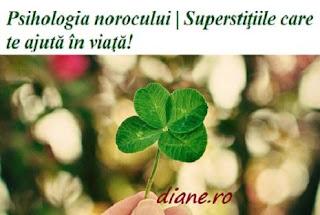 Psihologia norocului | Superstiţiile care te ajută în viaţă!