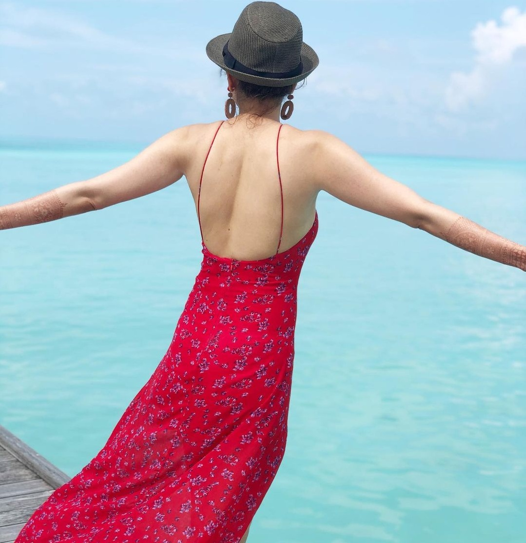 kajal-aggarwal-gautam-kitchlu-honeymoon-pics