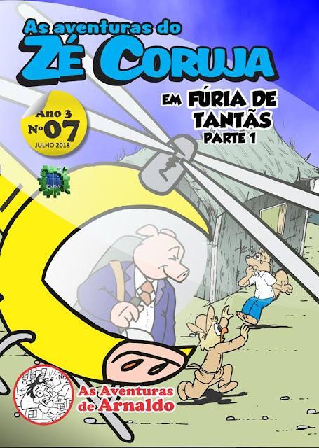Mais nova edição das Aventuras do Zé Coruja.