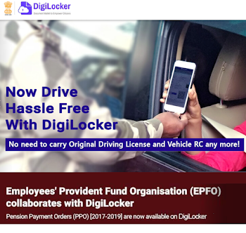 Is DigiLocker accepted by traffic police?