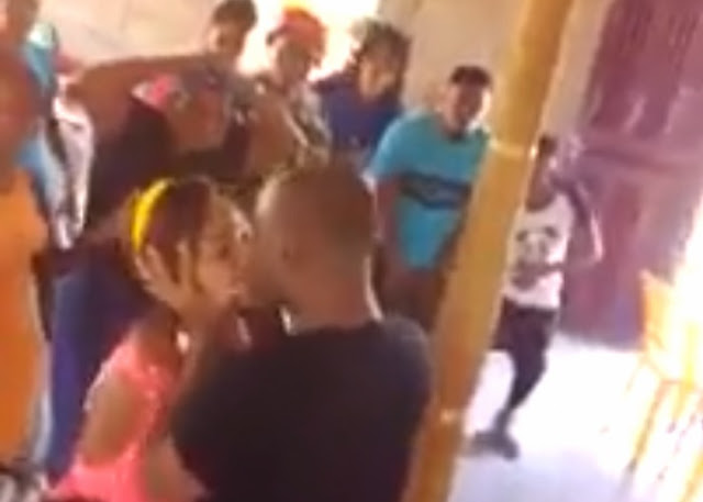 Pastor Caught On Video Kissing Woman In Church In The Name Of 'Casting Out Demon' [WATCH]
