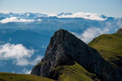 Trasa po nejvyšších vrcholech pohoří Rofan - Rakouské Tyrolsko
