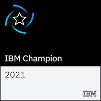 ibm champion for power 2021 logo