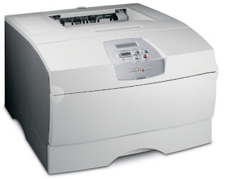 General purpose Light Amplification by Stimulated Emission of Radiation beam printer amongst an expanse keeping blueprint together with simplicity for modest wo Lexmark T430 Drivers Download