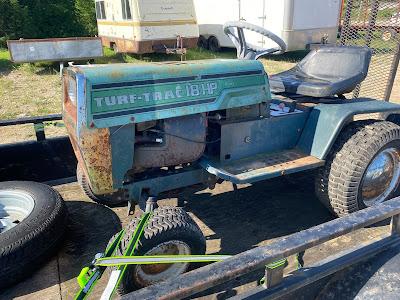 1980's Turf Trac 18 hp garden tractor